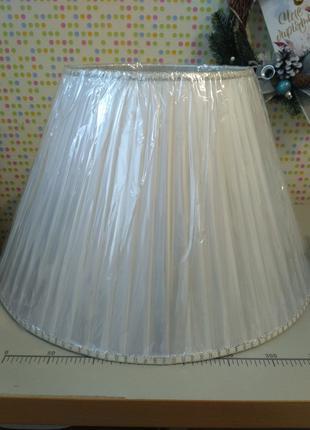 абажур белый 50 см
