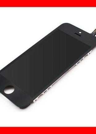 Дисплей iPhone 5/ 5S/ 5C / SE Black Чорний экран, модуль тачск...