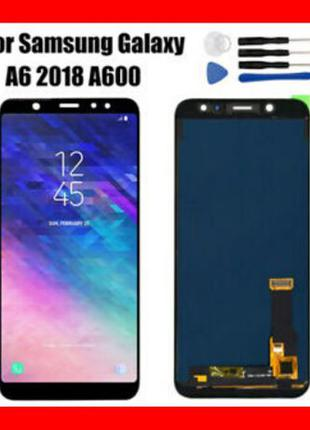 Дисплей Samsung A6+ 2018/A600/A605 Plus Модуль Экран Самсунг G...
