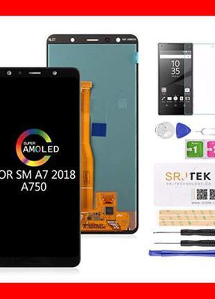 Дисплей Samsung A7 2018 / A750 Модуль Экран Samsung Самсунг Ga...