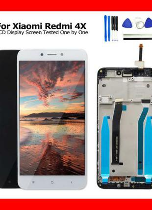 Модуль Xiaomi Redmi 4x  Білий White Дисплей экран Сенсор