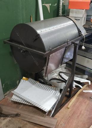 Барабан очиститель-охладитель семечек орехов