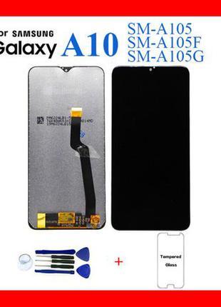 Дисплей Samsung A10 2019/A105/M105 Модуль Экран Samsung Самсун...