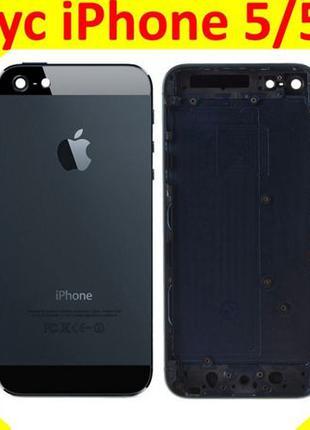 Корпус для iPhone 5/5s/5c/SE задня кришка, задня панель, айфон...