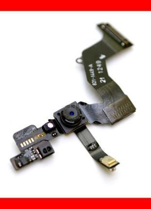 Динамик Шлейф для iPhone 5/5s/5с/SE слуховой, спикер, айфон Ку...
