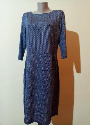 Классное трикотажное платье