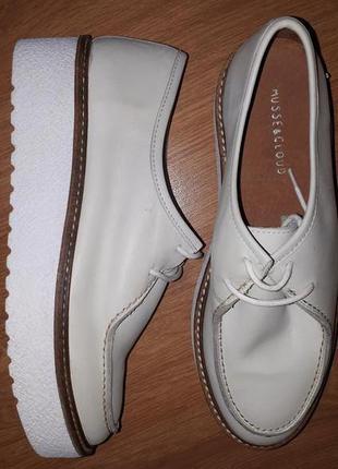 Распродажа!!!новые кожаные туфли musse&cloude(испания)