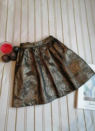 Золотиста юбка