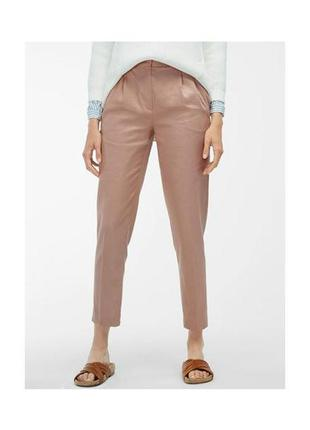 Льняные брюки massimo dutti