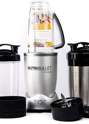 Кухонный блендер Nutribullet Prime 1000 вт корпус метал