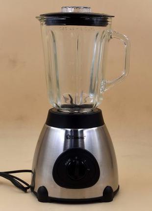 Блендер кофемолка 2 в 1 Domotec MS-6609 1000 вт 1,5 л