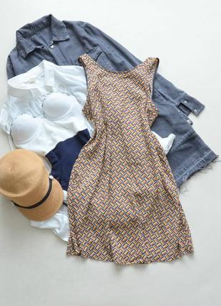 Вискозное платье с v образной спинкой cooperative