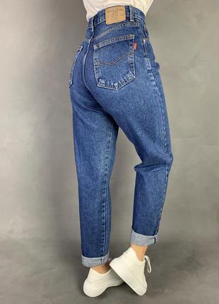 Джинсы мом винтаж классика высокая посадка момы yiussus jeans.