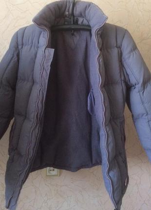 Теплая зимняя куртка/пуховик от spinney club, размер 44-46/m