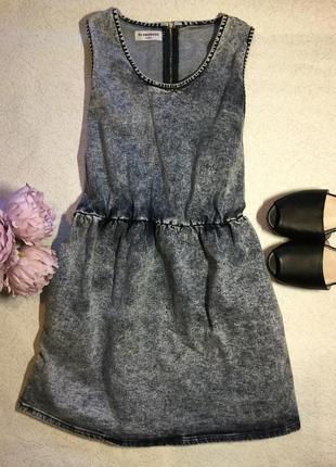 Платье джинсовое glamorous размер l