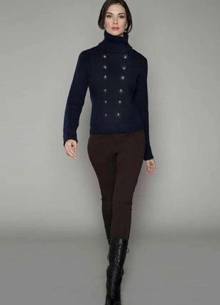Классное серое пальто в стиле милитари vintage boutiqe