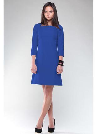 Rebecca tatti платье мини синее, цвета электрик