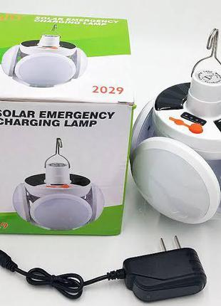 Подвесная лампа для кемпинга и отдыха на аккумуляторе с солнеч...
