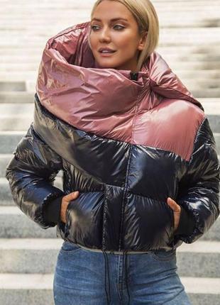 Куртка marani эксклюзив премиум укороченная авто леди зимняя п...
