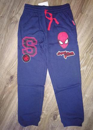 Детские спортивные теплые штаны для мальчика marvel