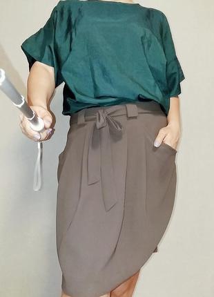 Юбка миди marks & spencer на 14 - 16 размер