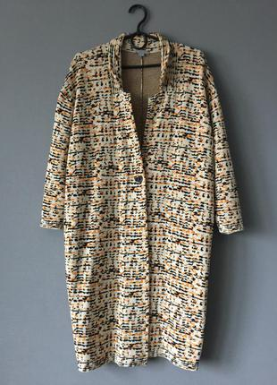 Легкое оверсайз пальто cos m--46 размер.