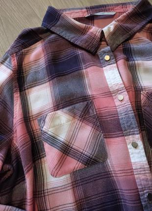 Брендовая рубашка в клетку george
