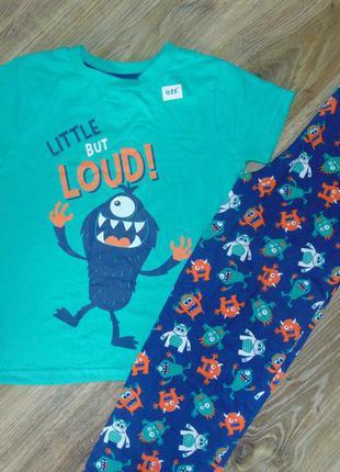 Детская летняя пижама для мальчика primark