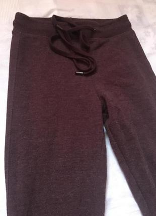 Распродаю бардовые лосины штаны для спорта фитнеса