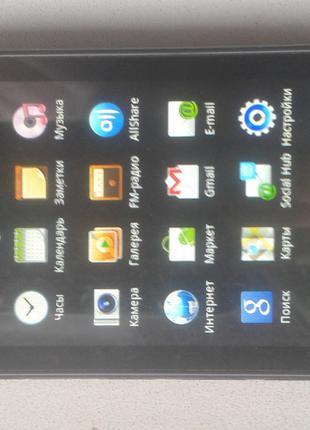 Смартфон Samsung GT-S5660 Galaxy Gio