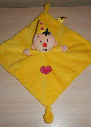 Игрушка комфортер платочек сплюшка bumba клоун