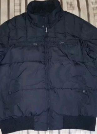 Крутая зимняя мужская куртка