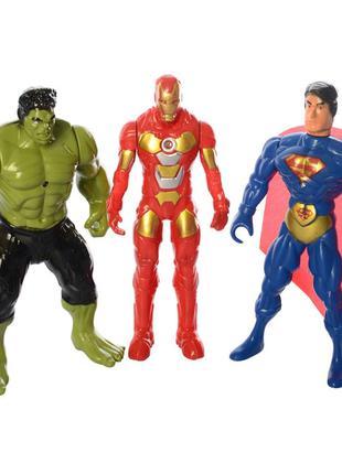 Фигурки для игры 899-31/32/33K (Супермен, Халк и Железный Чело...