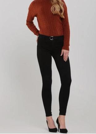 ❤️❤️❤️завышеные джинсы скинни 28 размер