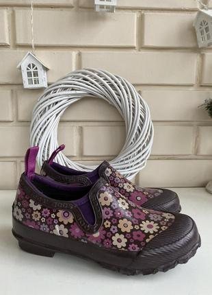 Резиновые сапоги туфли bogs 33размера