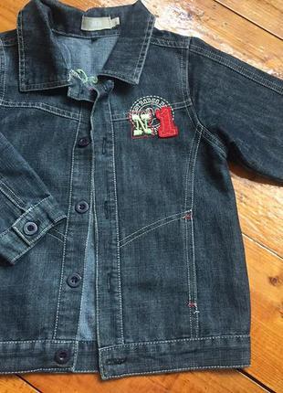 Джинсовый пиджак / джинсовая куртка