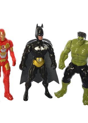 Фигурки для игры 899-31/32/33K (Бэтмен, Халк и Железный Человек)