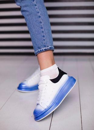 Шикарные женские эксклюзивные кроссовки alexander mcqueen 😍 (в...