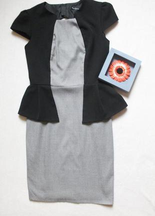Стильное платье от miss selfridge, размер м