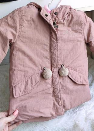 Куртка на осень, парка zara