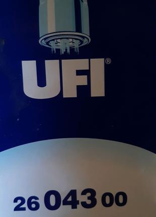 Топливный фильтр Ufi 2604300