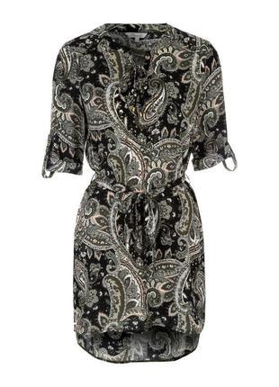 Платье летнее со шнуровкой peacocks размер 14/16