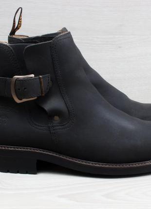 Мужские кожаные ботинки camel chelsea boots, размер 42 (челси)