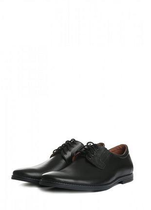 Мужские кожаные классические туфли от villomi
