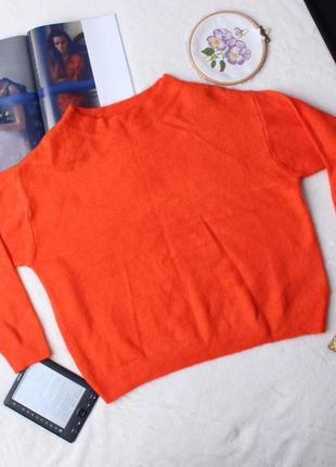 Легкая кофта оранжевого цвета h&m.