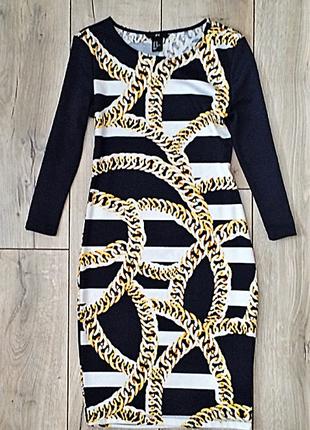 Стильна сукня-олівець h&m,p.xs