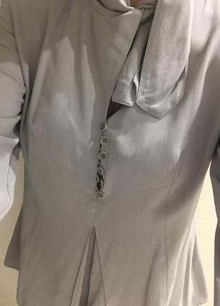 Emporio armani блуза шелк р.m