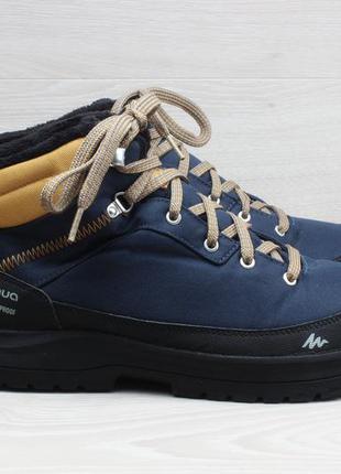 Мужские зимние ботинки quechua waterproof, размер 43
