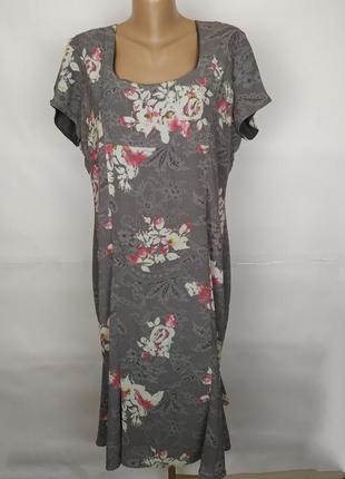 Платье стильное длинное шифоновое на подкладке оригинал paul c...
