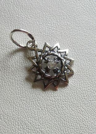 Подвеска серебро